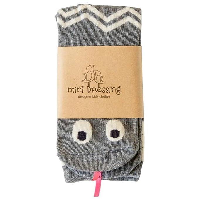 Mini Dressing - Calcetines hasta la rodilla - para niña gris gris 1-2 Años: Amazon.es: Ropa y accesorios