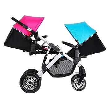Amazon Com Hestio Lightest Twins Baby Stroller Portable Carriage