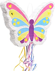 Small Butterfly Piñata (16.5 x 13 in.)