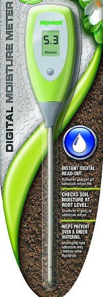 LUSTER LEAF RAPIDTEST Soil Plant Garden DIGITAL Moisture Sensor Meter Tester