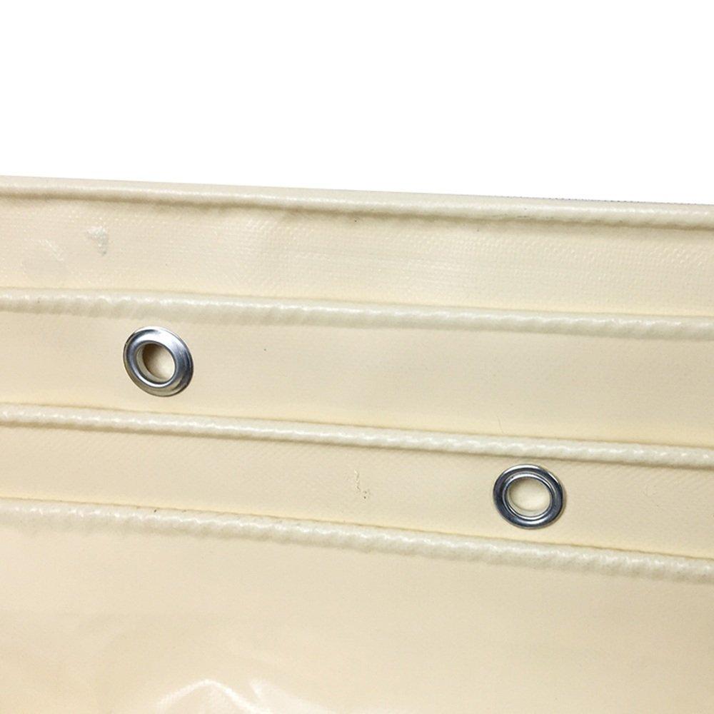 PJ Zelt Wasserdichtes Tuch Wasserdichtes Plane, Hochleistungs-Mehrzweck, Hochleistungs-Mehrzweck, Hochleistungs-Mehrzweck, Outdoor Weiß 600g m², 0.48mm Es ist Weit verbreitet B07DT9K1M3 Zelte Kaufen Sie online 67ee76