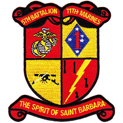 (5th Battalion 11th Marines Patch)