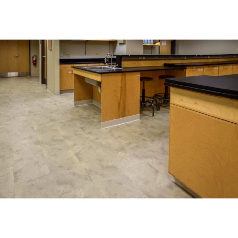 Mats Inc. X-Core Connect Stone Floor Tiles 12'' x 24'' Zen Light by Mats Inc. (Image #2)