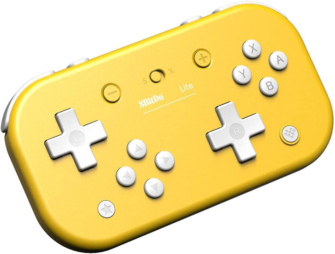 8Bitdo - Mando Wireless Switch Lite Amarillo (Nintendo Switch): Amazon.es: Videojuegos
