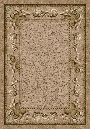 Milliken Signature Collection Sand Castles Rectangle Area Rug, 2'8