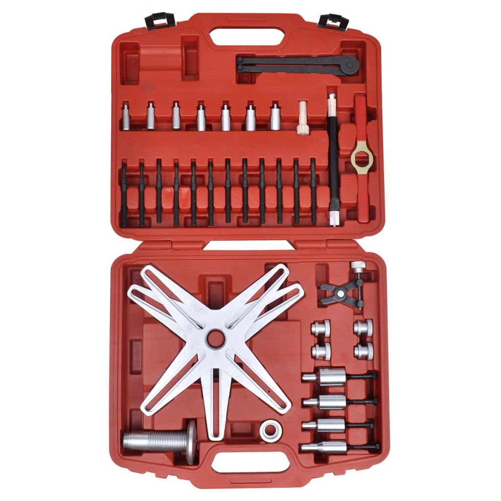 vidaXL Set de herramientas para alineaci/ón de embrague autoajustable herramientas