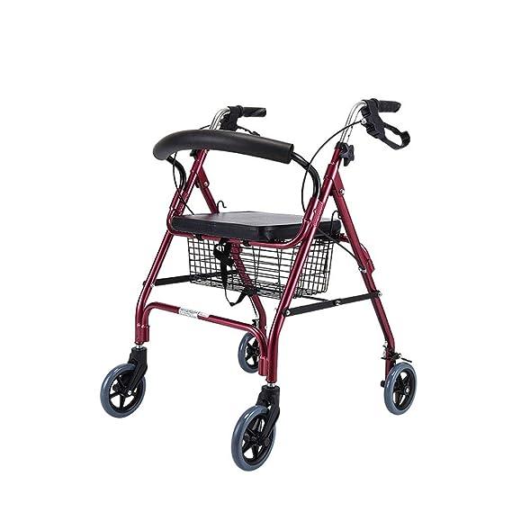 Andadores para Adultos | Aluminio | Plegable | Asiento y ...