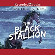 The Black Stallion Audiobook by Walter Farley Narrated by Frank Muller