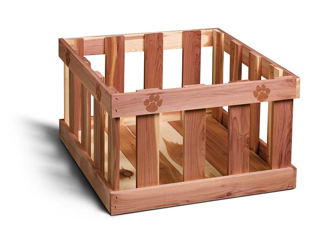 Woodlore Cedar Products Pet  Cedar Toy Box, Large