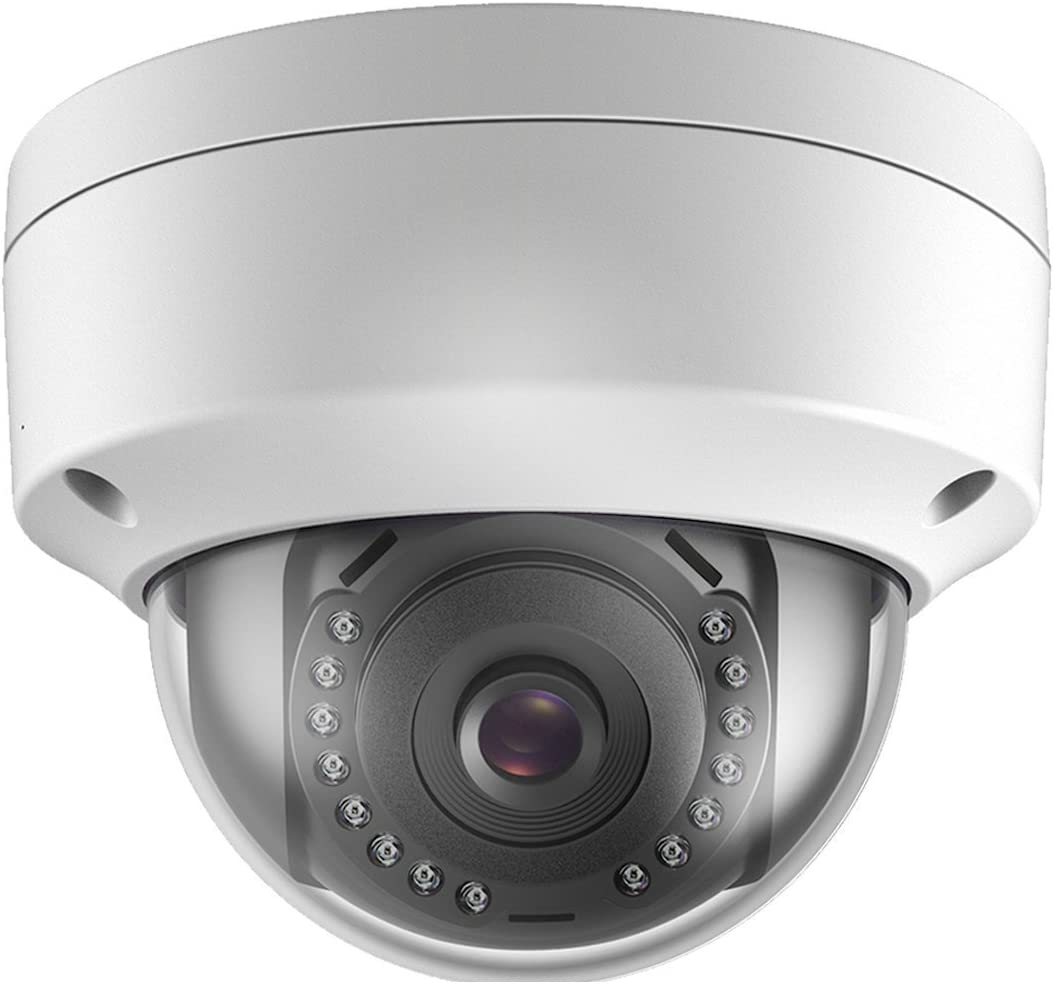 Real HD Onvif 4MP Outdoor Indoor PoE IP Dome Camera, 2.8mm Lens Wide Angle, IP66 Outdoor Rated, Hikvision Compatible