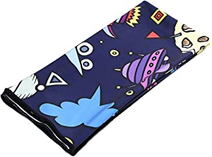 """AMO Cooling Towel (40""""x 12""""), Ice Towel for Neck Instant Cooling,Super Absorbent Printed Microfiber Towel for Athletes, Workout, Sports, Fitness, Gym, Running, Camping"""