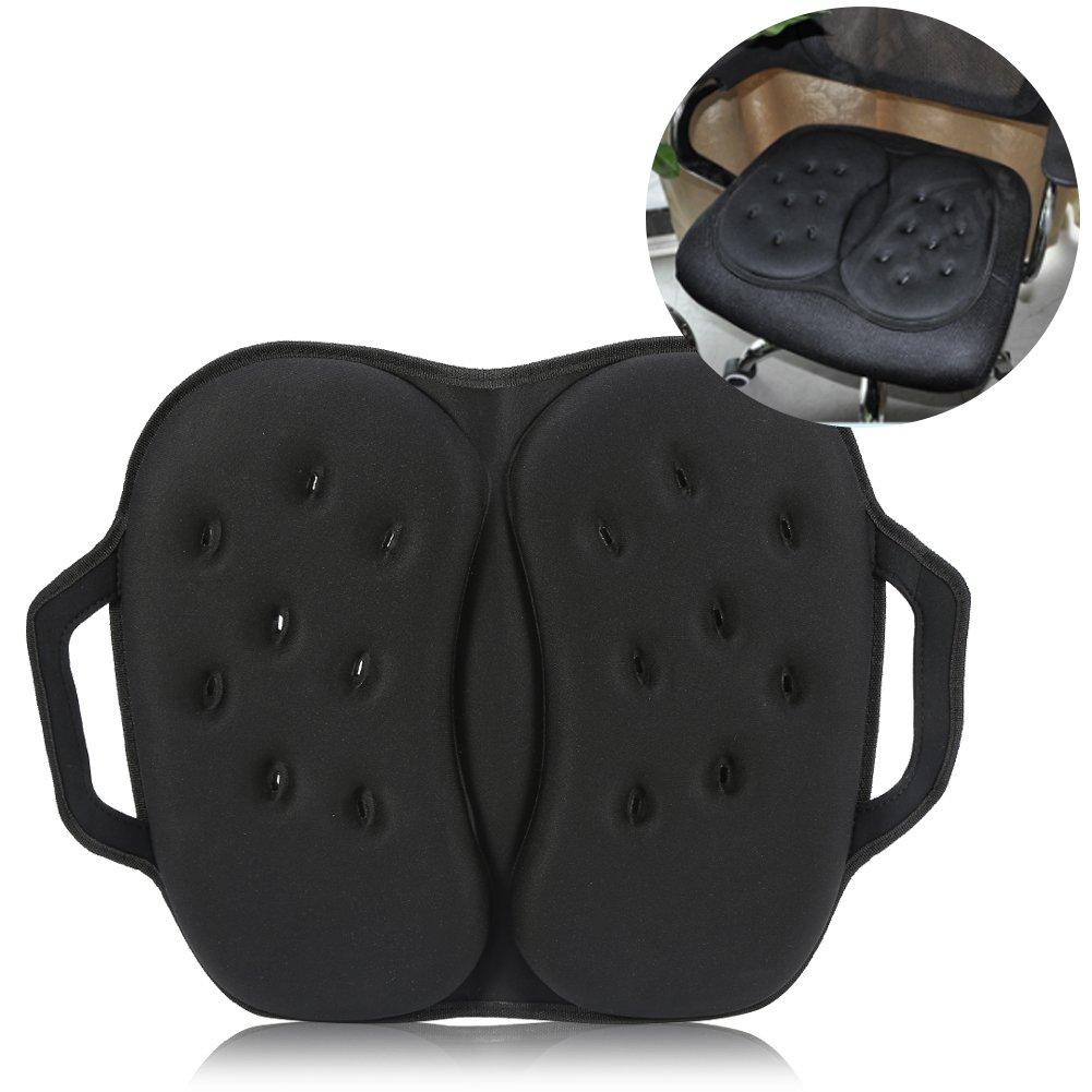 Sedile cuscino , Sedia spugna imbottito in poliuretano protettivo per migliore comfort coccige ortopedico schiena e da ufficio Brino