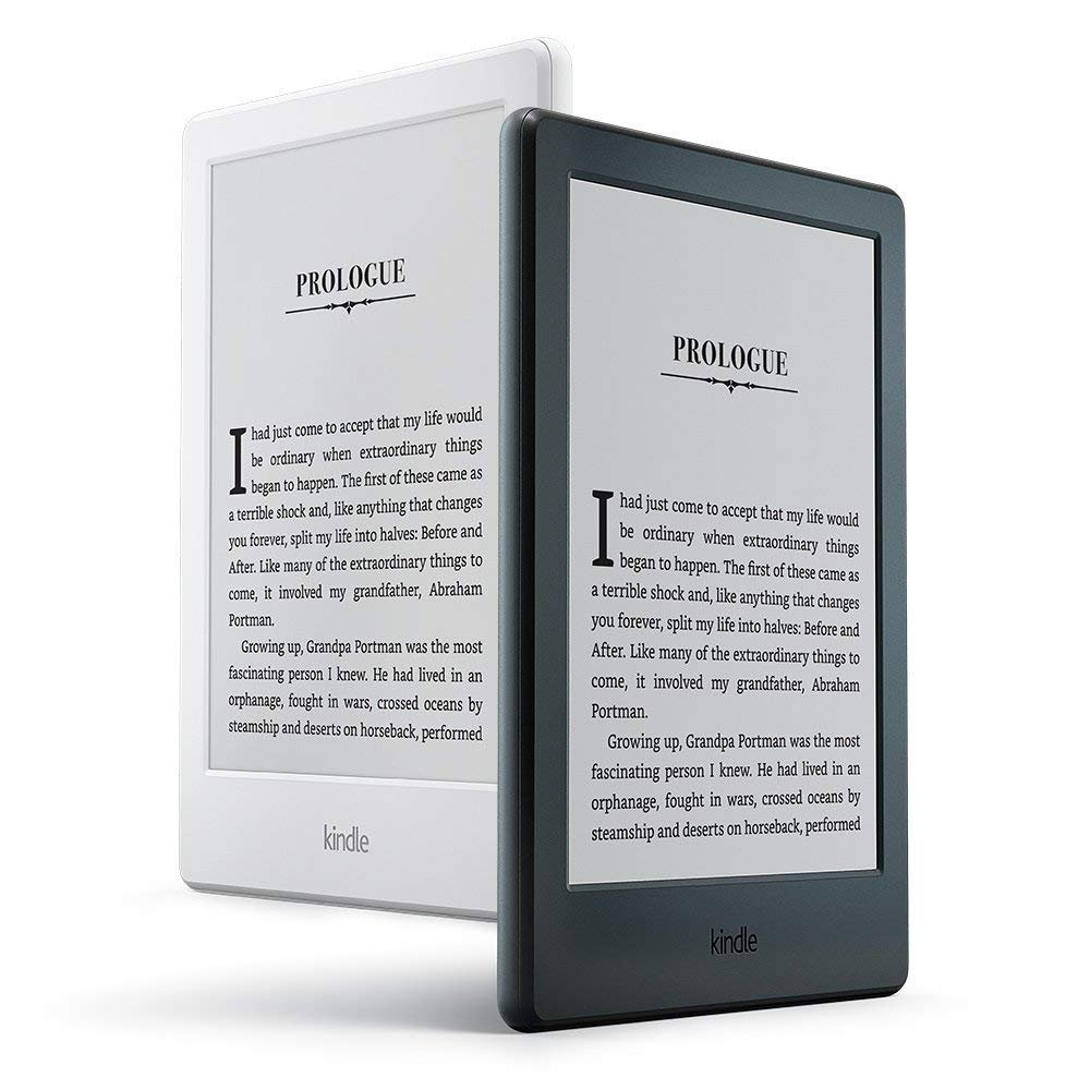 Wi-Fi - White Built-In Audible Previous Generation - 8th 6 Display Kindle E-reader