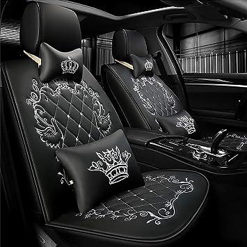 Universal Autositzbezüge Grau BUS 1+2 Vorne Sitzbezug Schonbezüge Set Autositz