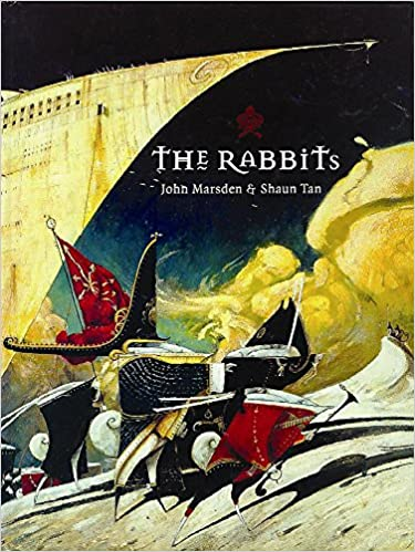 The Rabbits by John Marsden children's book cover for 18 children's books to teach children about social issues