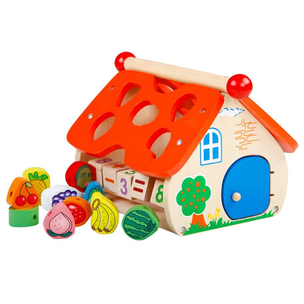 SU Los niños construyen Bloques de Inteligencia Juguetes de 0-3 años de Edad, iluminación, cognición, Forma de Forma