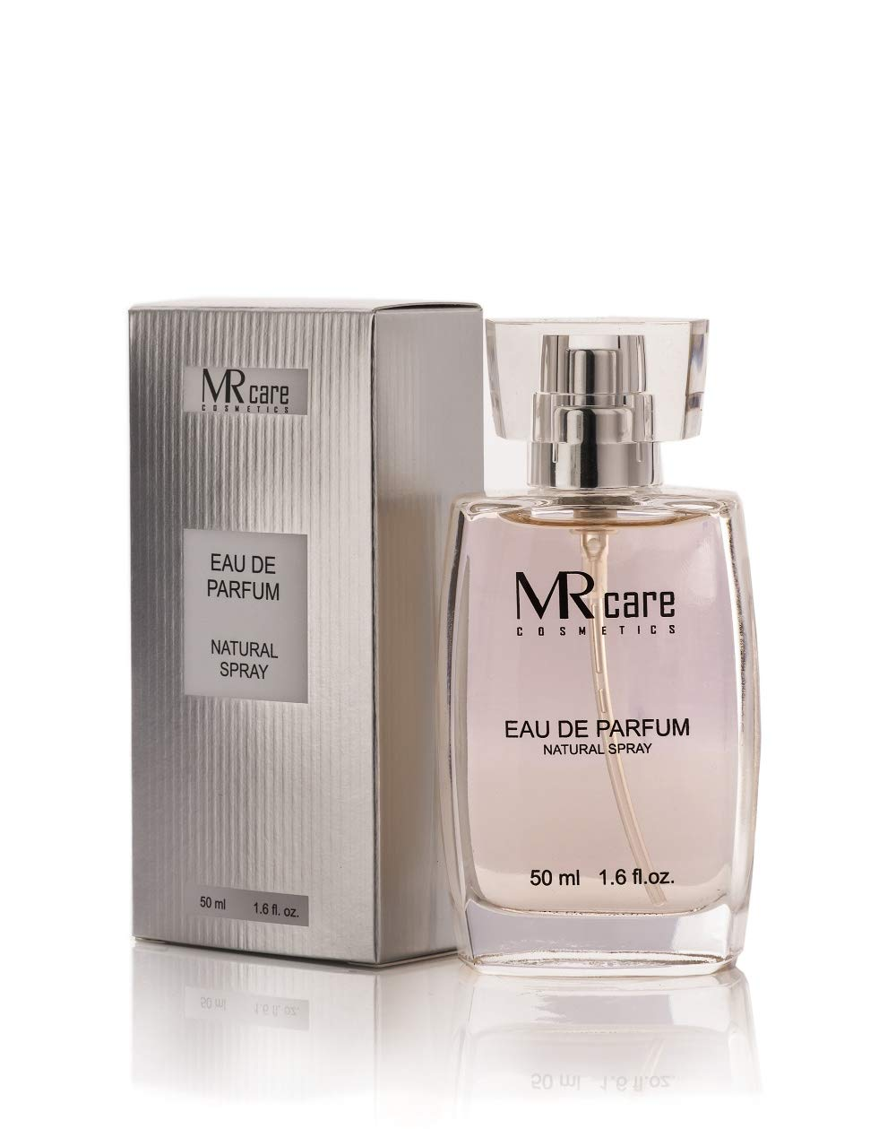 MR Care Eau de Parfum WhiteSilver 50 ml: : Beauty