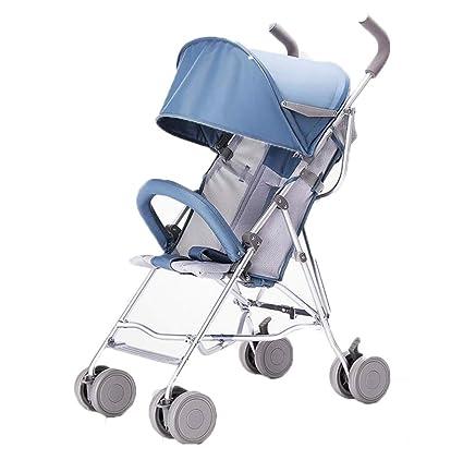 Cochecito de bebé, carro plegable ultraligero para ...