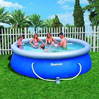 Splash pools above ground round pool package - 8 foot above ground swimming pools ...