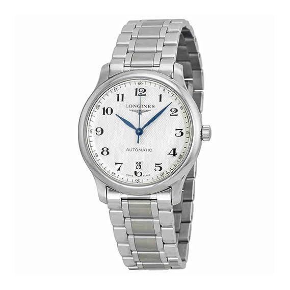 Longines L2.628.4.78.6 - Reloj de pulsera hombre, acero inoxidable