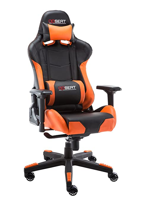 Astounding Opseat Master Series 2018 Pc Gaming Chair Racing Seat Computer Gaming Desk Office Chair Orange Cjindustries Chair Design For Home Cjindustriesco