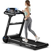 Deals on SuperFit 2.25HP Folding Treadmill Running Machine