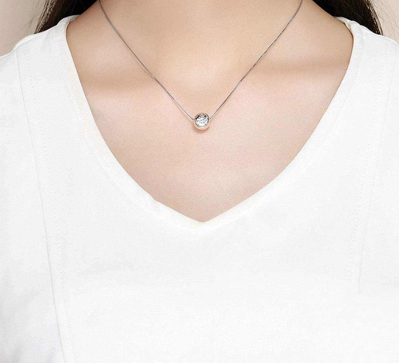Evereena Silver Beads Bracelet for Girls Night Sparkling Moon /& Stars Clip Charm Womens Jewelry