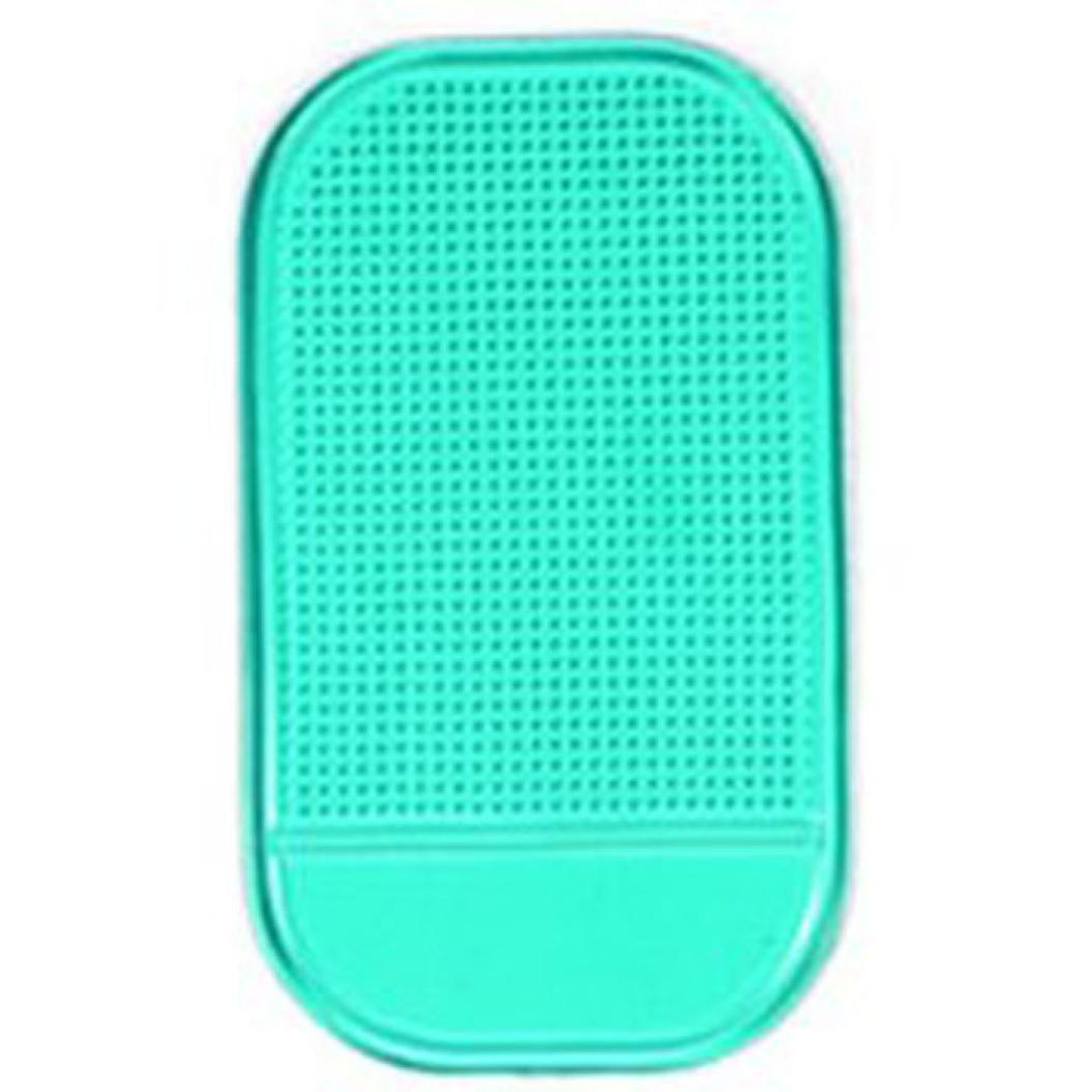 SANNYSIS Premium Cell Pads Car Magic Anti-Slip Dashboard Sticky Pad Non-Slip Mat Holder for GPS Cell Phone Green