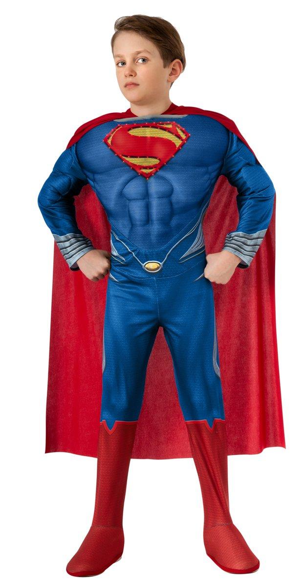 Amazon.com Man of Steel Childu0027s Deluxe Lite Up Superman Costume Small Toys u0026 Games  sc 1 st  Amazon.com & Amazon.com: Man of Steel Childu0027s Deluxe Lite Up Superman Costume ...