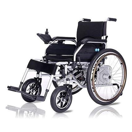 Batería de Litio Energizado por Plegable Eléctrico Silla de ruedas Ligero Mayor Discapacitado Inteligente Cuatro rondas