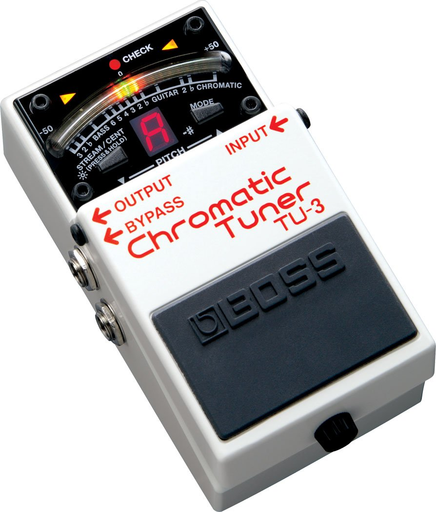Boss TU-3 Chromatic Tuner Guitar Tuner Pedal Roland Corporation TU3