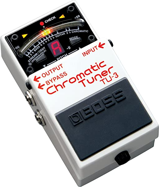 boss chromatic tuner tu2 vs tu3