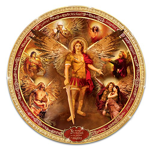The Bradford Exchange Archangels of The Lord Collector Plate with David Howard Johnson Art