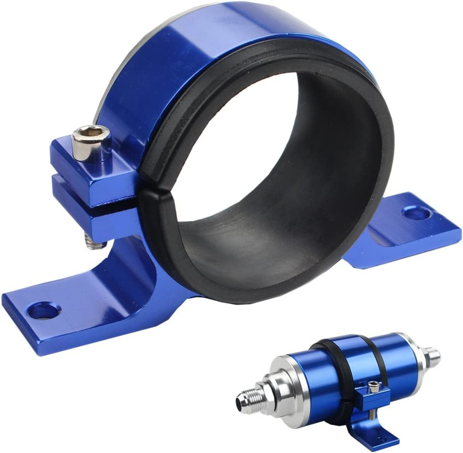 Mounting Bracket New 380LPH External Inline Fuel Pump Replaces BOSCH 0580254044