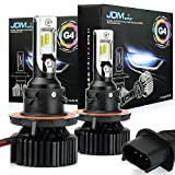ford escape led - JDM ASTAR Newest Version G4 8000 Lumens Extremely Bright AEC Chips H13 9008 All-in-One LED Headlight Bulbs Conversion Kit, Xenon White
