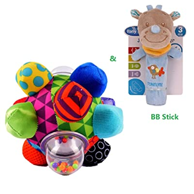 Kids Developmental Ball and BB Stick for Baby : Baby