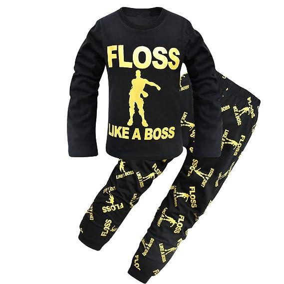 Dgfstm - Pijama Dos Piezas - para niño: Amazon.es: Ropa y accesorios