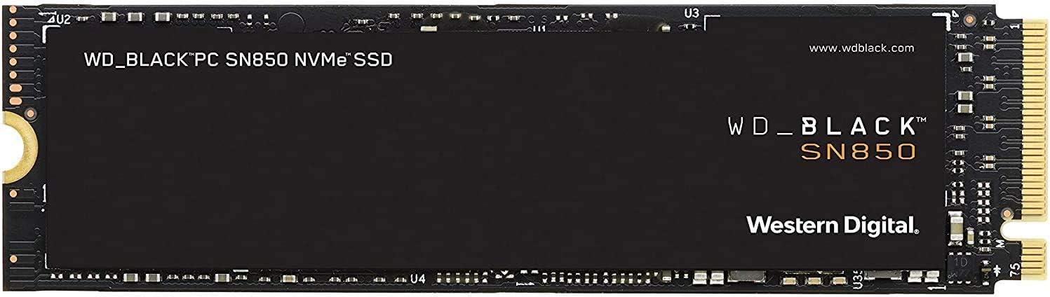 Wd Black Sn850 2 Tb Nvme Interne Gaming Ssd Pcie Gen4 Computer Zubehör