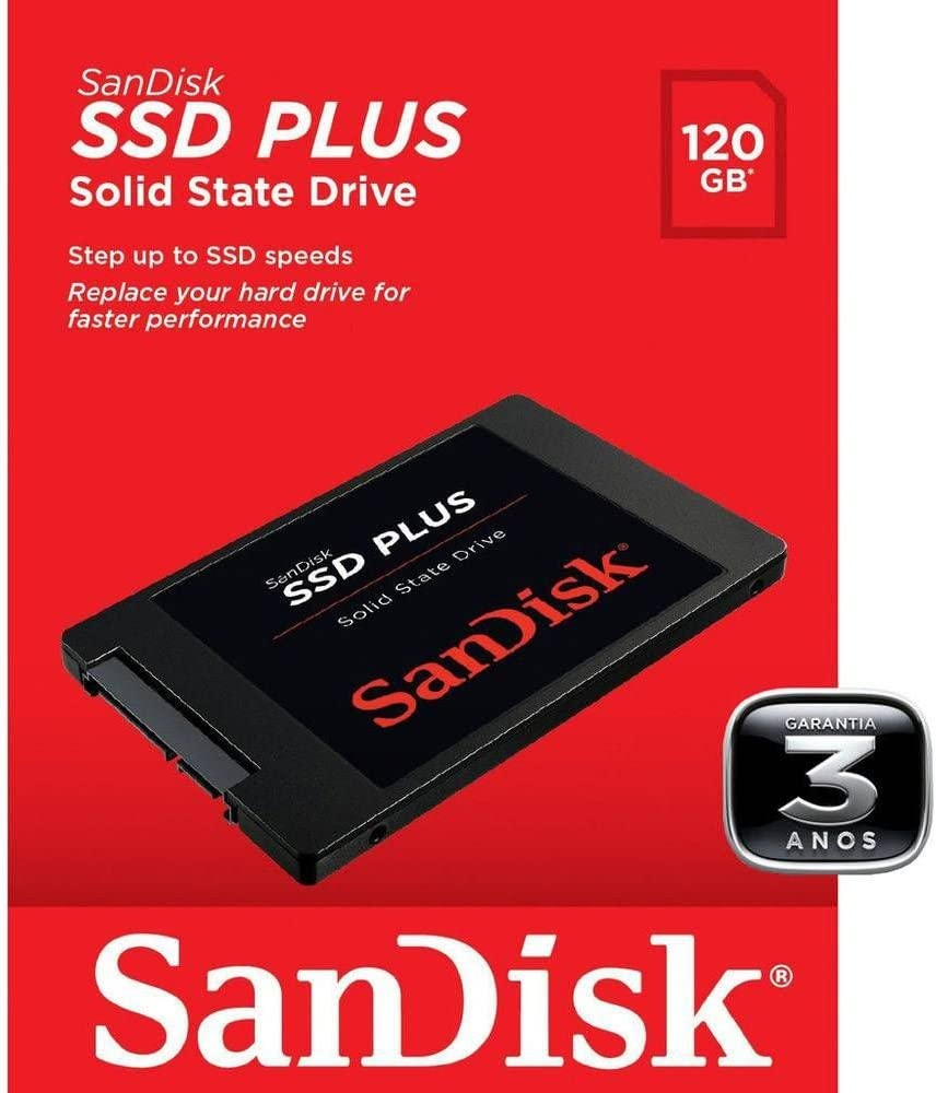 Sandisk SDSSDA-120G-G26 Disco Duro Interno Ssd de 120 Gb, 120 Gb, Negro: Amazon.es: Informática