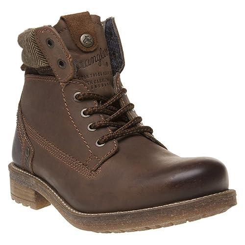 WRANGLER Hill Tweed Chukka Homme Boots Marron: