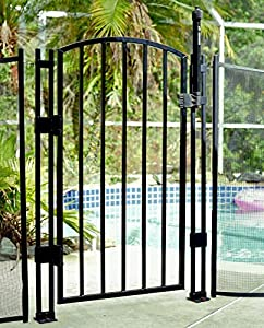 Amazon Com Sentry Safety Pool Fence 4 Tall Self Closing