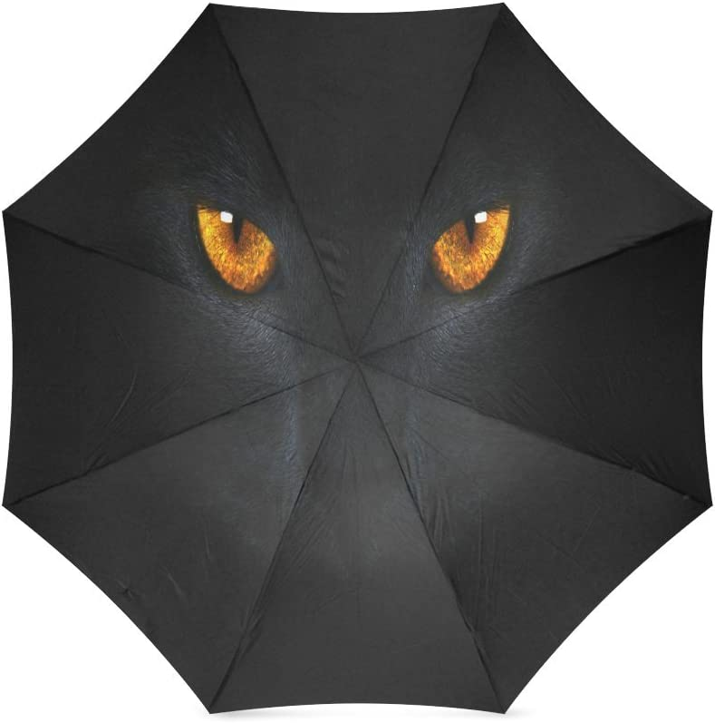 Custom Cat eye Compact Travel Windproof Rainproof Foldable Umbrella