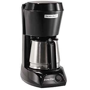 Hamilton Beach SMALL APPLIANCES 1030386 4-Cup Hotel & Hospitality Coffeemaker, With Stainless Steel Carafe