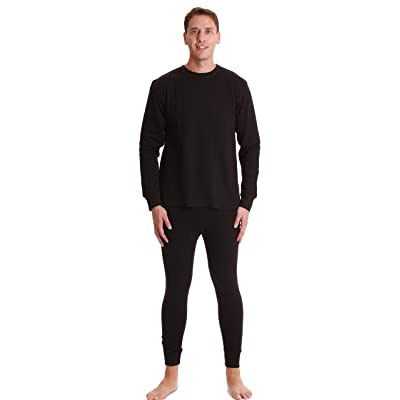 #followme Double Layer Thermal Underwear Set for Men Heavy Weight Long Johns at Men's Clothing store