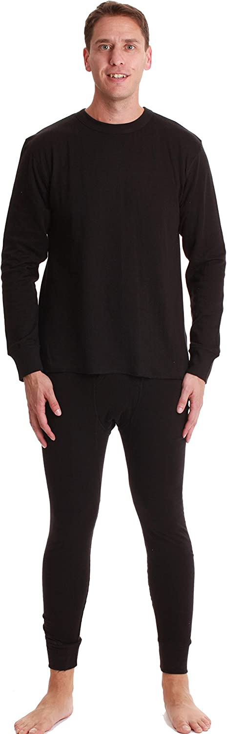 #followme Double Layer Thermal Underwear Set for Men Heavy Weight Long Johns