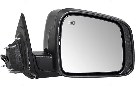 Amazon Com Passengers Power Side View Mirror Heated Manual Folding Replacement For 11 18 Dodge Durango 5sh42axrad Automotive
