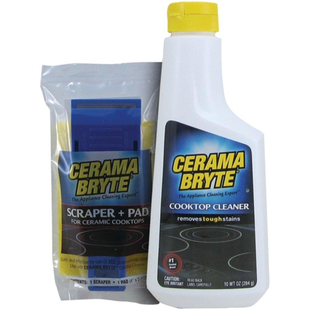 CERAMA BRYTE 27068 Cooktop Cleaning Kit consumer electronics Electronics Brnadzs