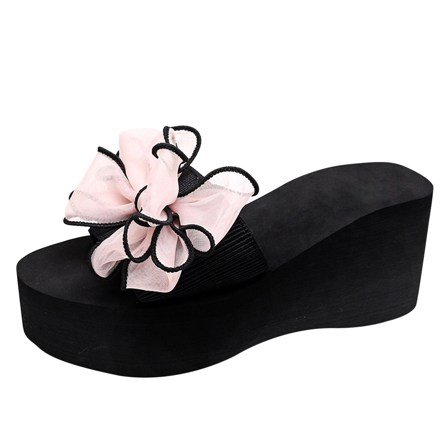 Frestepvie Chaussures Sandales Femme Fille Sandales Slippers Espadrilles Chaussures Chaussons Compensé B07HGZPRZ5 Plat Confort Mode Simple Plage Casual Rose 9ee9298 - conorscully.space