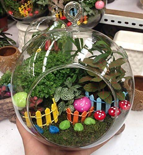 10/x 3/cm en Bois Miniature Cl/ôture de Jardin Pot de Fleur Plante D/écoration Blanc