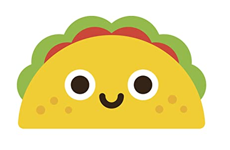 amazon com mexican food cartoon emoji vinyl decal sticker 8 wide rh amazon com cartoon drawing of mexican food cartoon mexican food images